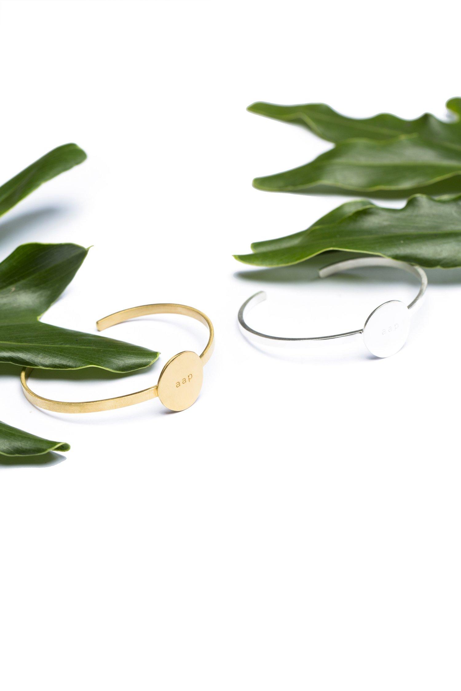 Aap - Prabhu Aap Jago Cuff Bracelet (Silver)