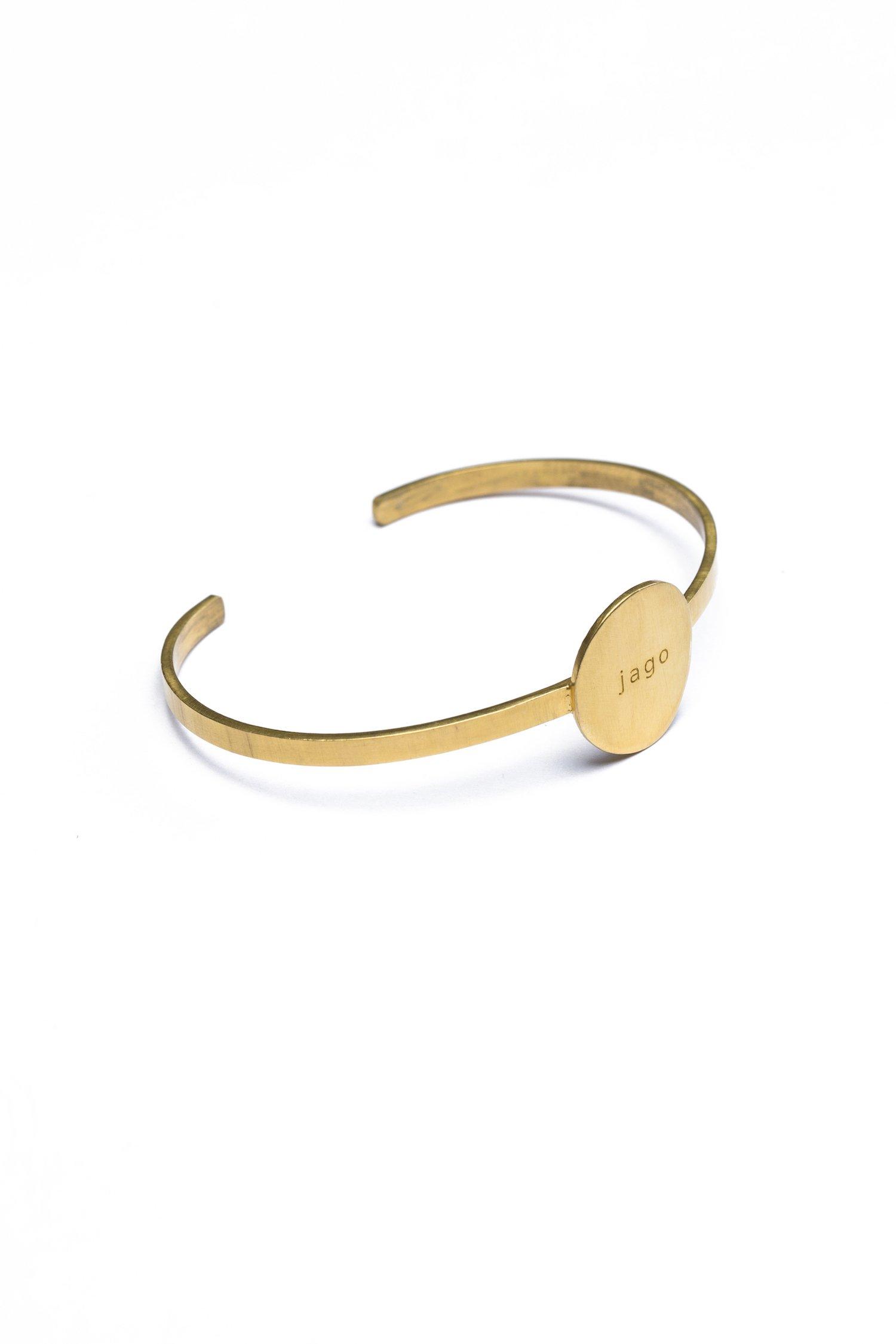 Jago - Prabhu Aap Jago Cuff Bracelet (Gold)