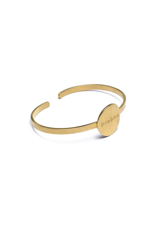 Prabhu - Prabhu Aap Jago Cuff Bracelet (Gold)
