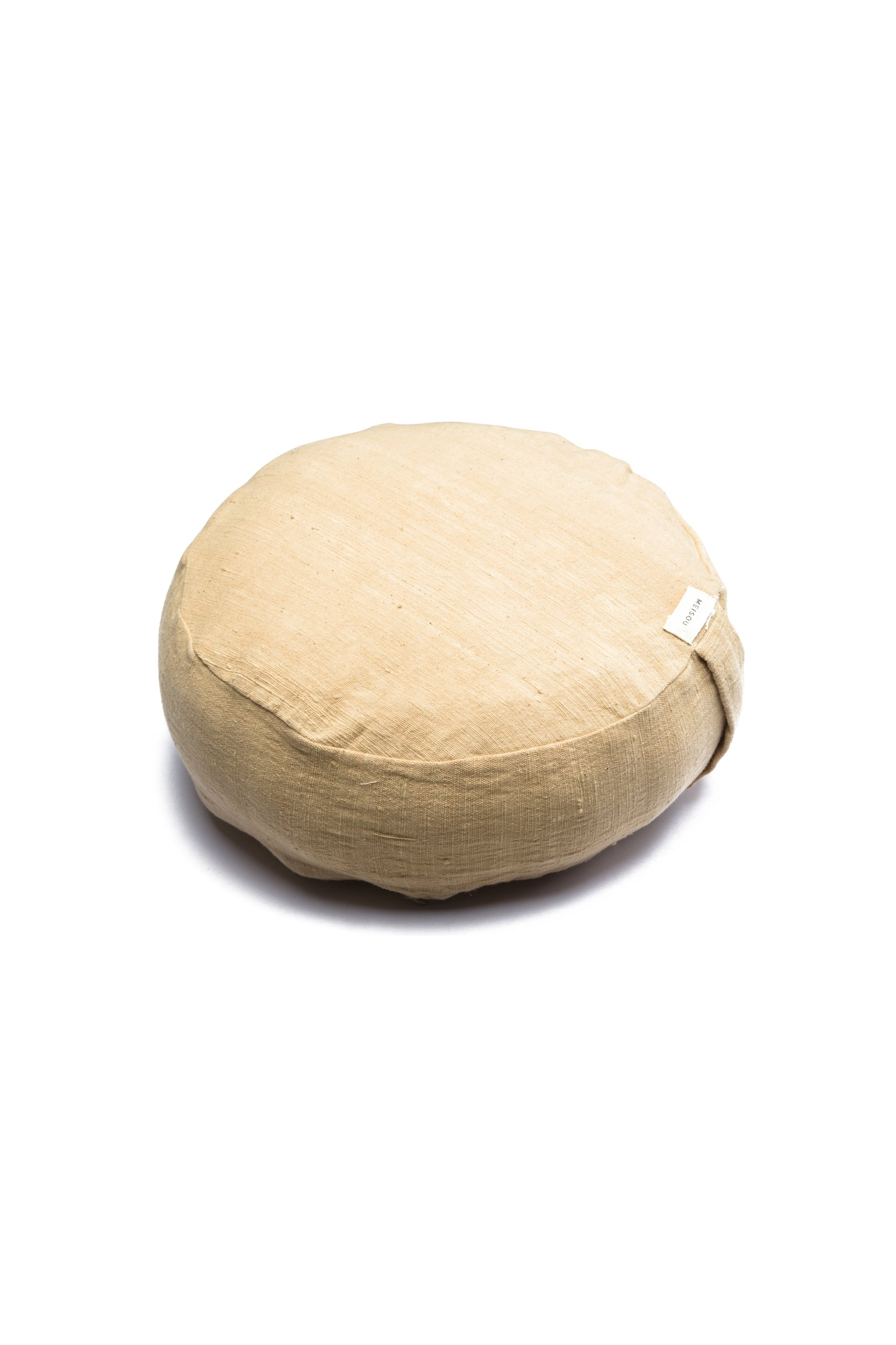Organic Meditation Cushion (Beige)