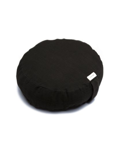 Organic Meditation Cushion (Black)